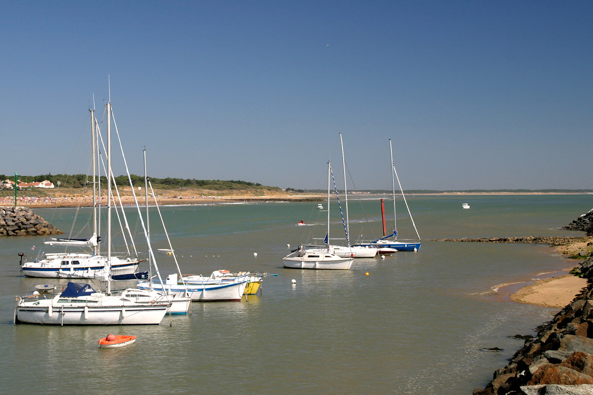 Port at Jard sur Mer