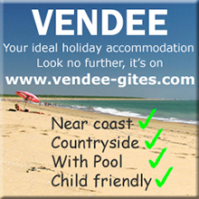 Vendee holiday rentals, cottages, gites and villas with pools