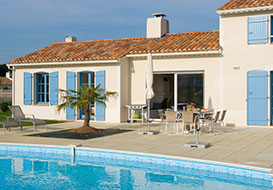 3 and 4 bedroom villas with pool on the Vendee coast, St Gilles