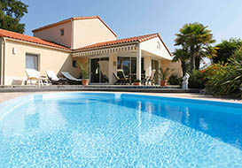 3 and 4 bedroom villas with pool on the Vendee coast, Les Sables d'Olonne