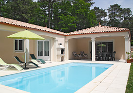 Spacious villa with private pool on the Vendee coast