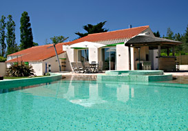 Attractive 3 bedroom villa near the Vendee coast
