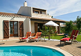 Villa with private pool, near Vendee beaches