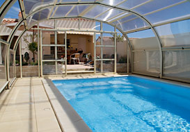Vendee villa with private heated pool